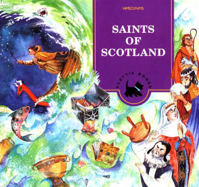 Saints of Scotland Activity Book by Eileen Dunlop