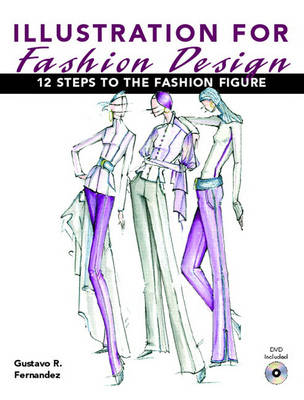 Illustration for Fashion Design Twelve Steps to the Fashion Figure by Gustavo R. Fernandez