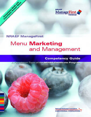 ManageFirst Menu Marketing and Management with Pencil/paper Exam and Test Prep by National Restaurant Association