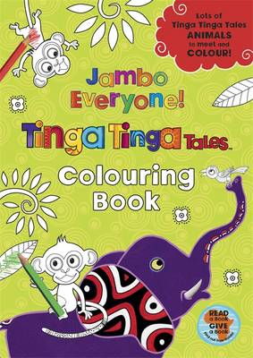 Jambo Everyone! Colouring Book by
