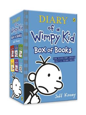 Diary of a Wimpy Kid: Box of Books (Books 1-6) by Jeff Kinney
