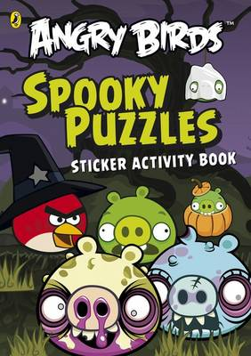 Angry Birds: Spooky Puzzles Sticker Activity Book by