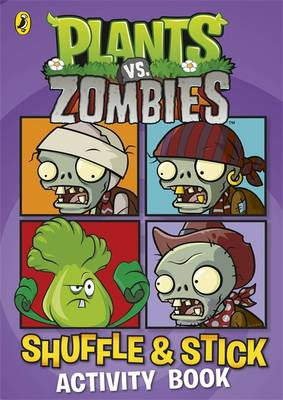 Plants vs. Zombies: Shuffle & Stick Activity Book by