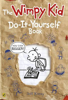 Diary of a Wimpy Kid: Do-It-Yourself Book by