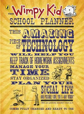 The Wimpy Kid School Planner by