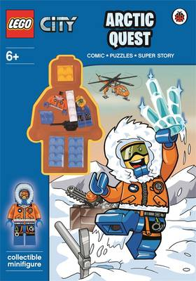 LEGO City: Arctic Quest Activity Book With Minifigure by