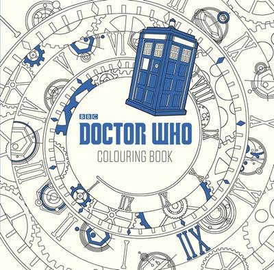 Doctor Who: The Colouring Book by