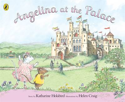 Angelina at the Palace by Katharine Holabird