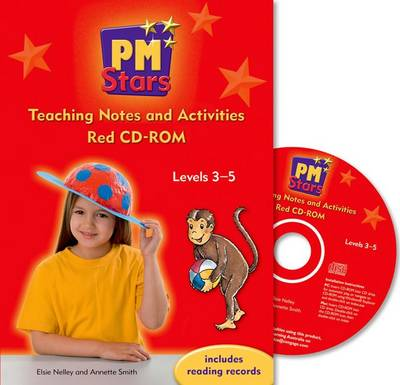 PM Stars Red Teaching Notes and Activities CD-ROM Levels 3-5 by Elsie Nelley
