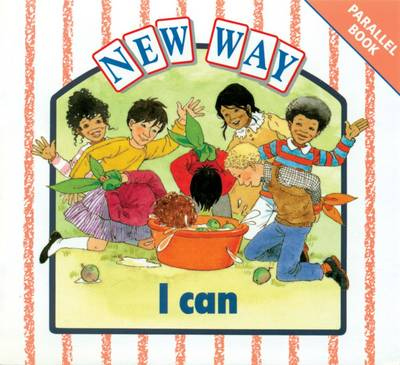 New Way White Parallel Book - I Can by