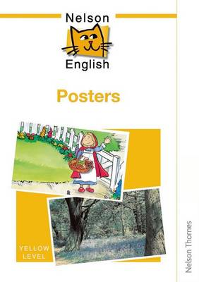 Nelson English - Yellow Level Posters by John Jackman, Wendy Wren