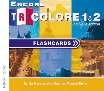 Encore Tricolore Nouvelle 1 Flashcards CD-ROM (Stages 1 and 2) by Sylvia Honnor, Heather Mascie-Taylor
