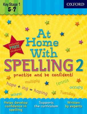 At Home with Spelling 2 by Deirdre Coates