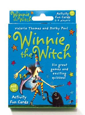 Winnie the Witch Activity Fun Cards by Valerie Thomas