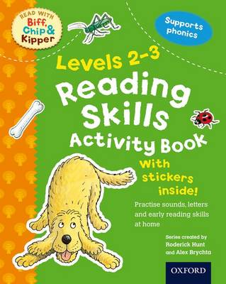 Oxford Reading Tree Read with Biff, Chip, and Kipper: Levels 2-3: Reading Skills Activity Book by Roderick Hunt, Ms Cynthia Rider