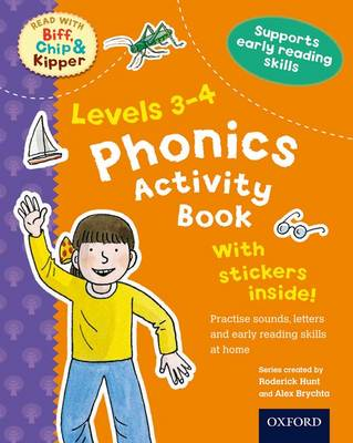 Oxford Reading Tree Read with Biff, Chip, and Kipper: Levels 3-4: Phonics Activity Book by Roderick Hunt, Charlotte Raby