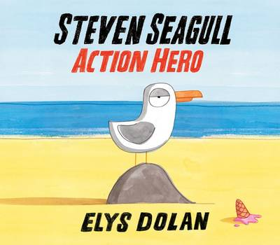 Steven Seagull Action Hero by Elys Dolan
