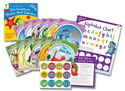 Oxford Reading Tree Songbirds: Levels 1+ and 2: Get Started with Julia Donaldson's Phonics Story Collection by Julia Donaldson