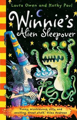 Winnie's Alien Sleepover by Laura Owen
