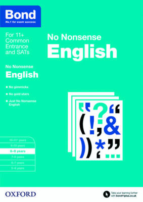 Bond: English: No Nonsense 8-9 Years by Frances Orchard, Bond