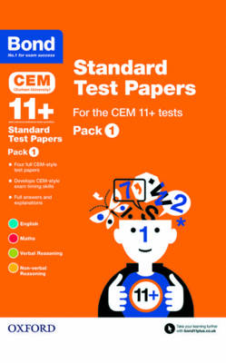 Bond 11+: CEM: Standard Test Papers by Michellejoy Hughes, Alison Primrose, Bond