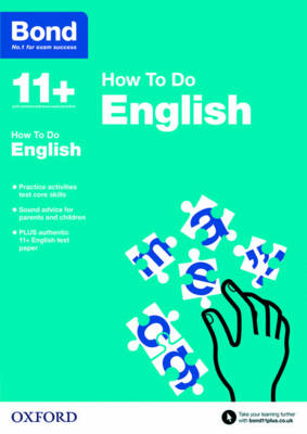 Bond 11+: English: How to Do by Elisabeth Heesom, Bond