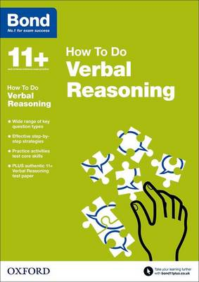 Bond 11+: Verbal Reasoning: How to Do by Alison Primrose, Bond