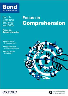 Bond 11+: English: Focus on Comprehension 9-11 Years by Michellejoy Hughes, Bond