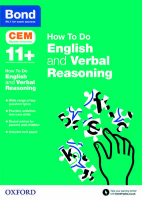 Bond 11+: CEM How to Do: English and Verbal Reasoning by Michellejoy Hughes, Bond