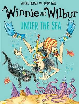 Winnie and Wilbur Under the Sea by Valerie Thomas