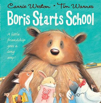 Boris Starts School by Carrie Weston