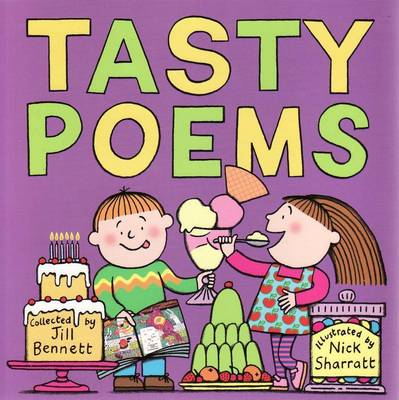 Tasty Poems New Cover 2006 by Jill Bennett