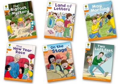 Oxford Reading Tree Biff, Chip and Kipper Stories Decode and Develop: Level 6: Pack of 6 by Roderick Hunt, Paul Shipton
