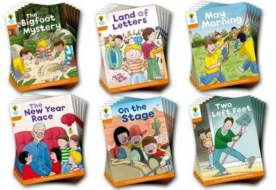 Oxford Reading Tree Biff, Chip and Kipper Stories Decode and Develop: Level 6: Pack of 36 by Roderick Hunt, Paul Shipton