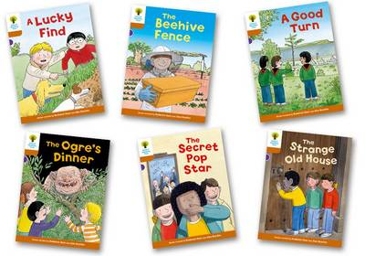 Oxford Reading Tree Biff, Chip and Kipper Stories Decode and Develop: Level 8: Pack of 6 by Roderick Hunt, Paul Shipton
