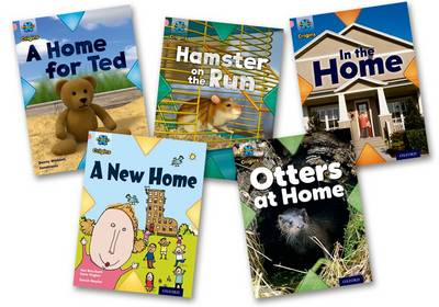 Project X Origins: Pink Book Band, Oxford Level 1+: My Home: Mixed Pack of 5 by Danny Waddell, Alex Lane, Jan Burchett, Sara Vogler