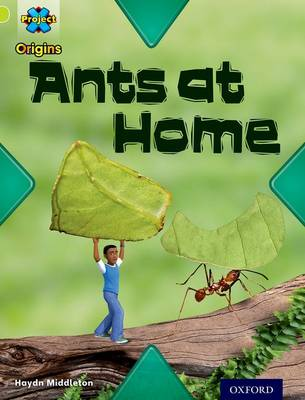 Project X Origins: Lime Book Band, Oxford Level 11: Underground: Ants at Home by Haydn Middleton