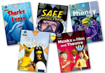Project X Origins: Lime Book Band, Oxford Level 11: Masks and Disguises: Mixed Pack of 5 by Maureen Haselhurst, Anthony McGowan, Mick Gowar, Kathryn White