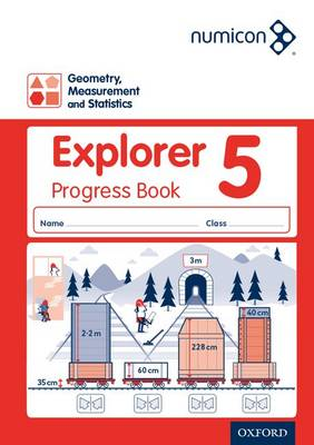 Numicon: Geometry Measurement and Statistics 5 Explorer Progress Book by Andrew Jeffrey