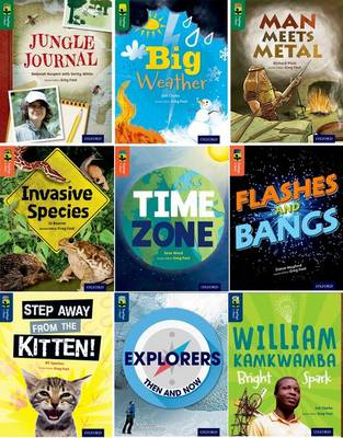 Oxford Reading Tree Treetops Infact: Level 12-14: Pack of 9 by Zoe Clarke, Deborah Kespert, Richard Platt, Jane Wood