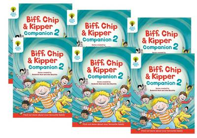 Oxford Reading Tree: Biff, Chip and Kipper Companion 2 Pack of 6 Year 1 / Year 2 by Roderick Hunt