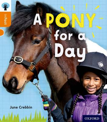 Oxford Reading Tree Infact: Level 6: A Pony for a Day by June Crebbin