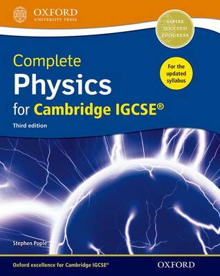 Complete Physics for Cambridge IGCSE Student Book by Stephen Pople
