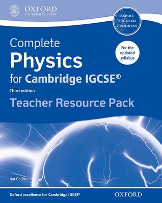 Complete Physics for Cambridge IGCSE Teacher Resource Pack by Ian Collins