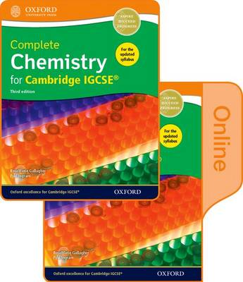 Complete Chemistry for Cambridge IGCSE Print and Online Student Book Pack by RoseMarie Gallagher, Paul Ingram