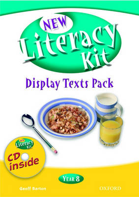 New Literacy Kit: Year 8 Display Texts Pack with CD by Frances Gregory, Jacquie Hills