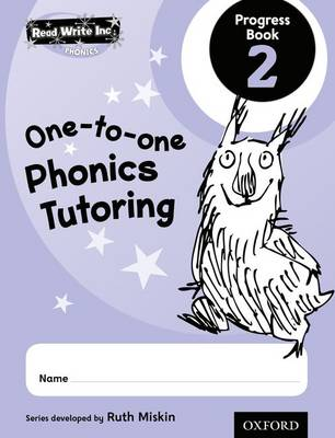 Read Write Inc.: Phonics One-to-One Phonics Tutoring Progress Book 2 Pack of 5 by Ruth Miskin