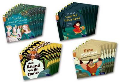 Oxford Reading Tree Traditional Tales: Level 8: Pack of 24 by John Dougherty, Trish Cooke, Tony Bradman, Geraldine McCaughrean