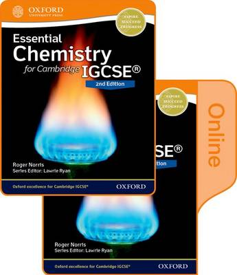 Essential Chemistry for Cambridge Igcse(R) 2nd Edition Print and Online Student Book Pack by Roger Norris