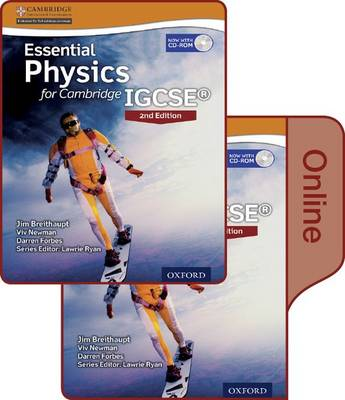 Essential Physics for Cambridge IGCSE(R) Print and Online Student Book Pack by Jim Breithaupt, Viv Newman